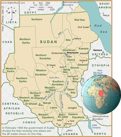 Darfur crisis history analysis strategies a few things should be noted regarding this era see original map of sudan at side until 2011 sudan was the largest country in africa and 10th largest in gumiabroncs Choice Image